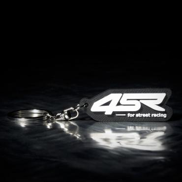 Logo key chain 4SR black