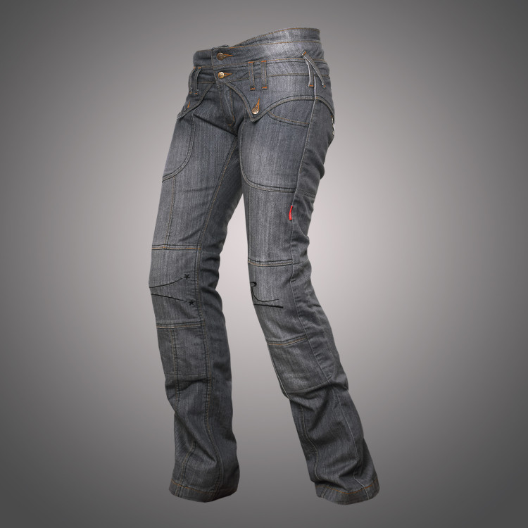 Jeans Lady Star Grey