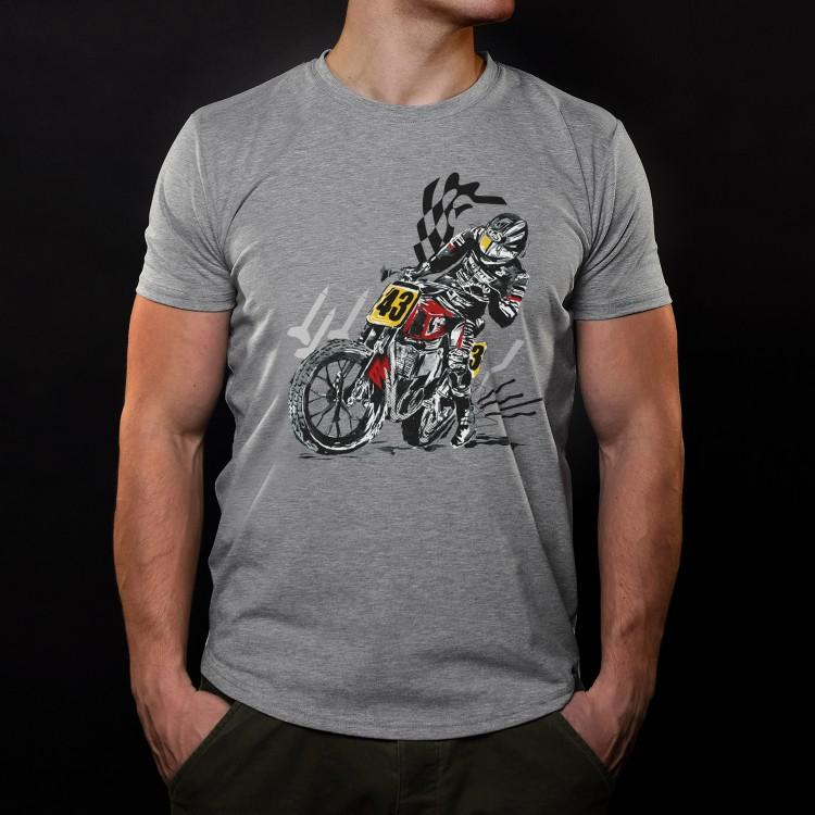 T-Shirt Flat Track Champion