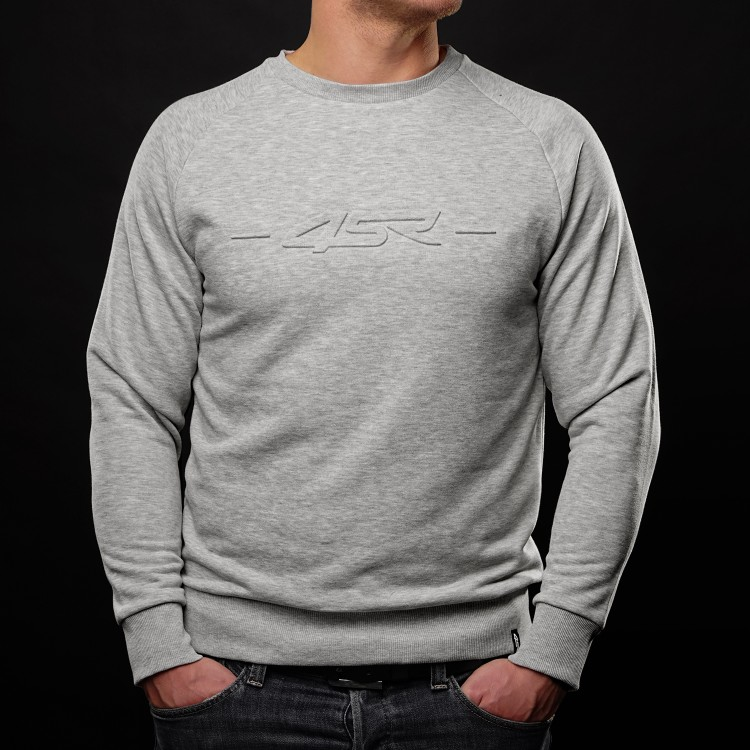Sweatshirt Logo EMB Grey