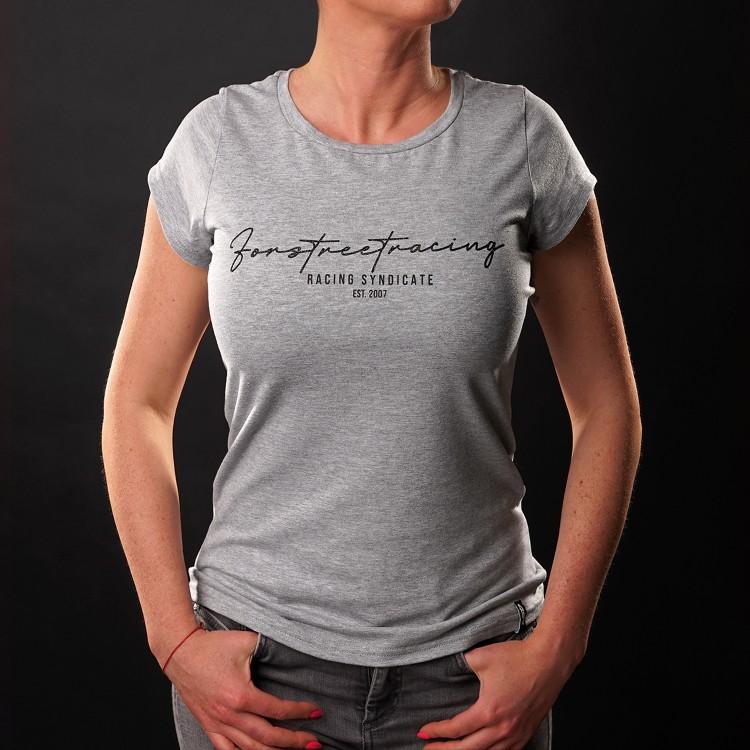 T-Shirt Script Black