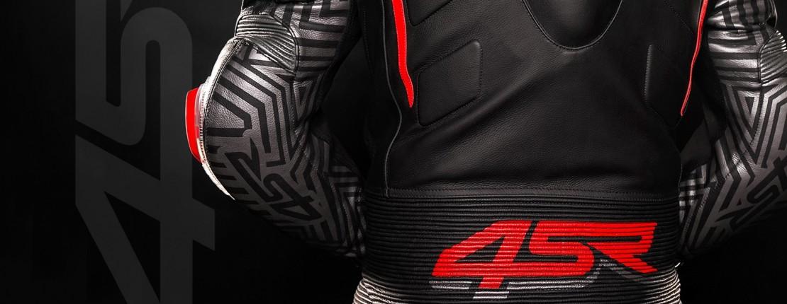 4SR Motorradbekleidung - 4SR Motorrad Lederkombi RR Evo III Diablo AR 2-Teiler