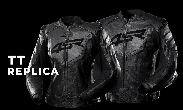 TT Replica Black Series Lederjacke
