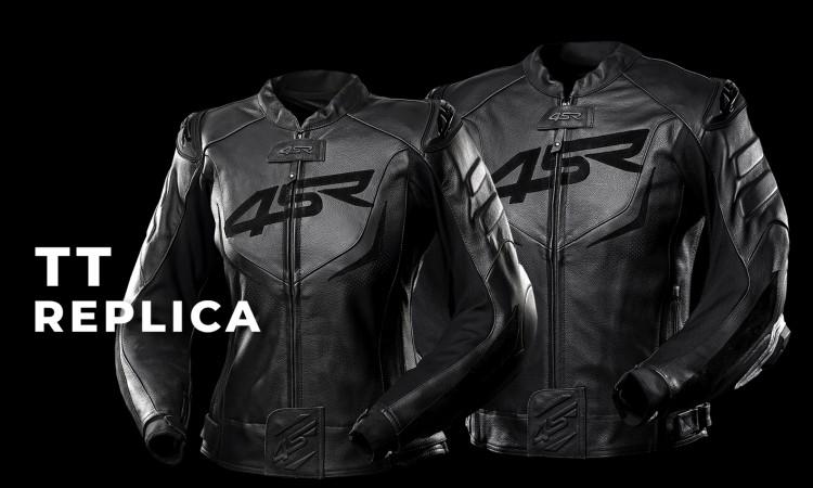 TT Replica Black Series Lederjacke