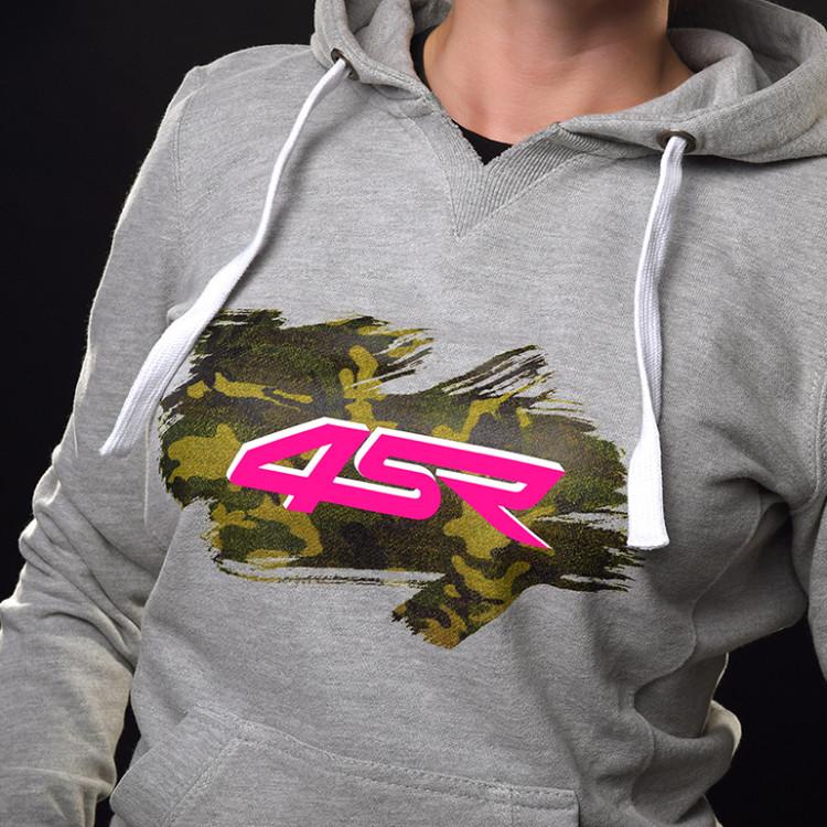 4SR Hoodie Pink Brush