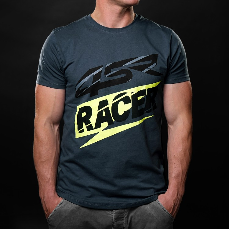 4SR T-Shirt Racer Grey