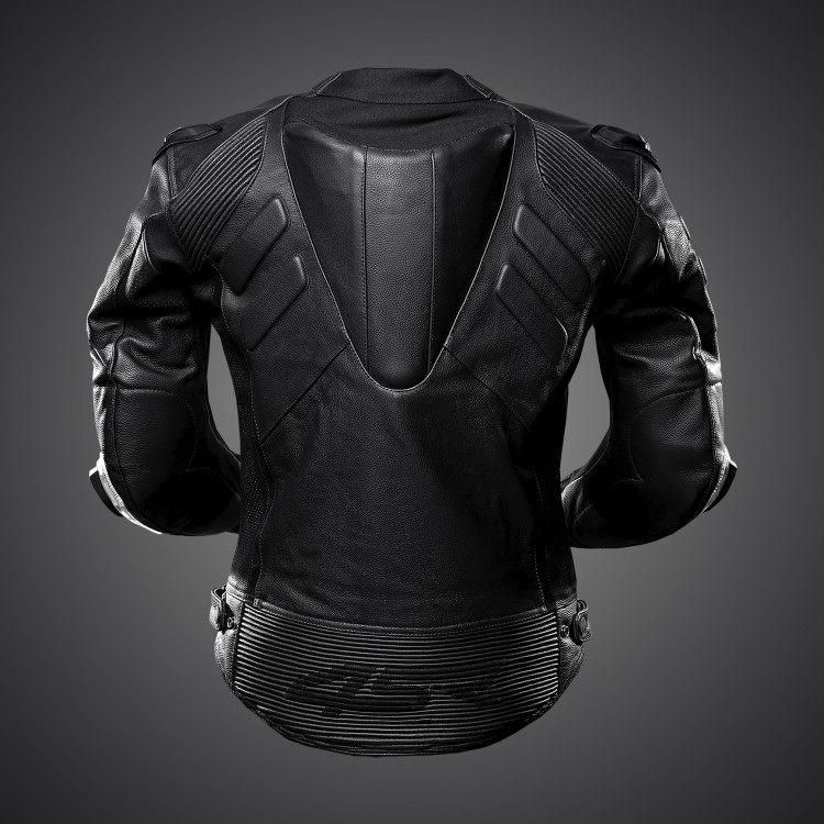 4SR Motorradbekleidung - TT Replica Black Series Motorrad Lederjacke