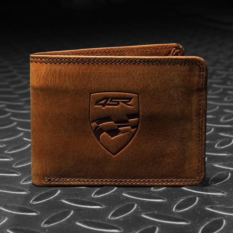 4SR Geldbörse Money Maker Braun