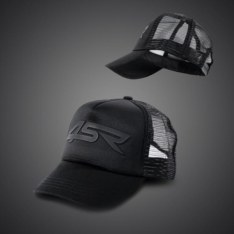 4SR Motorradbekleidung - Black Series Caps - für Kinder