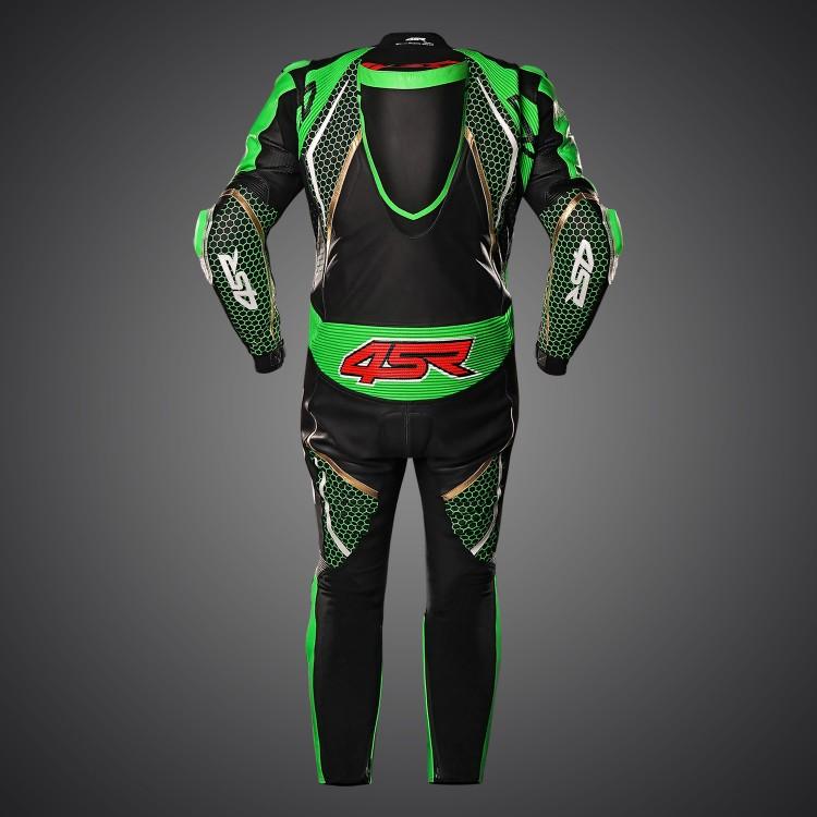 Racing Monster Green AR Lederkombi