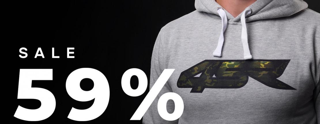 59% Rabatt auf 4SR Hoodies