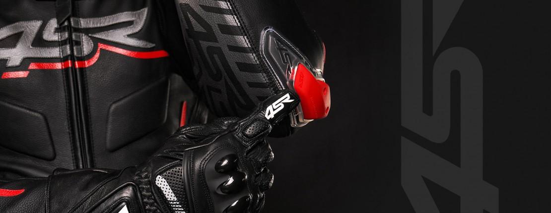 4SR Motorradbekleidung - Motorradhandschuhe Sport Cup 3 Black