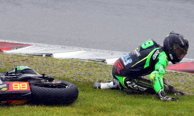 4SR Crash test - BSB Ben Luxton