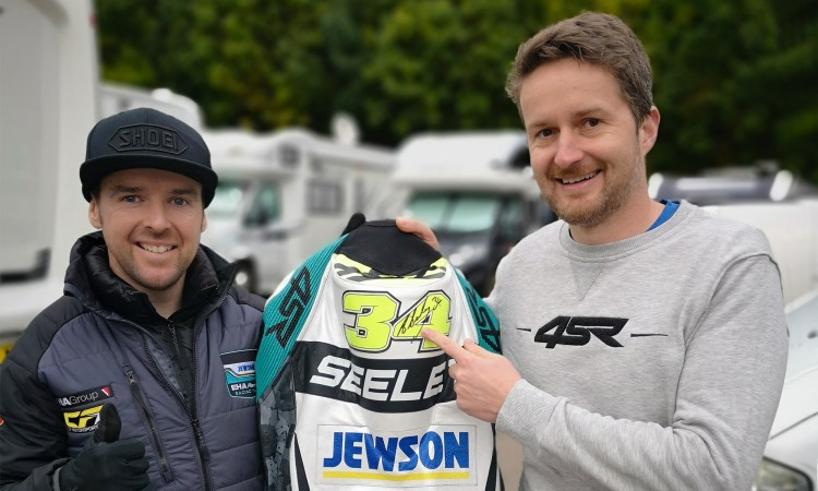 4SR Motorradbekleidung FAIR PLAY Alastair Seeley